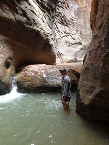 The narrows hike 2
